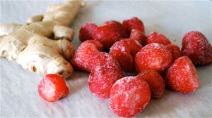 strawberries-ginger